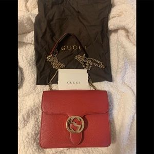 Gucci GG Dollar calfskin purse